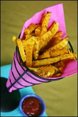 Hungry Girl's Butternut Squash Fries