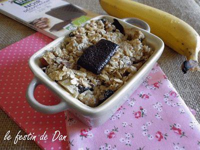 Le Festin de Dan: Crumble de Bananes & Chocolat noir
