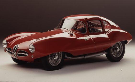 Carrozzeria Touring Superleggera Disco Volante 2012 via caranddriver.com: Concept design. #Cars #Disco_Volante #caranddriver #Alfa_Romeo