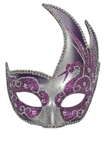 Masquerade Masks for Women | monarch butterfly masquerade mask black hot pink purple venetian ...