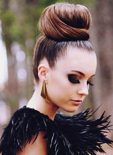 Peachy Buns Big Bun And High Bun On Pinterest Short Hairstyles For Black Women Fulllsitofus