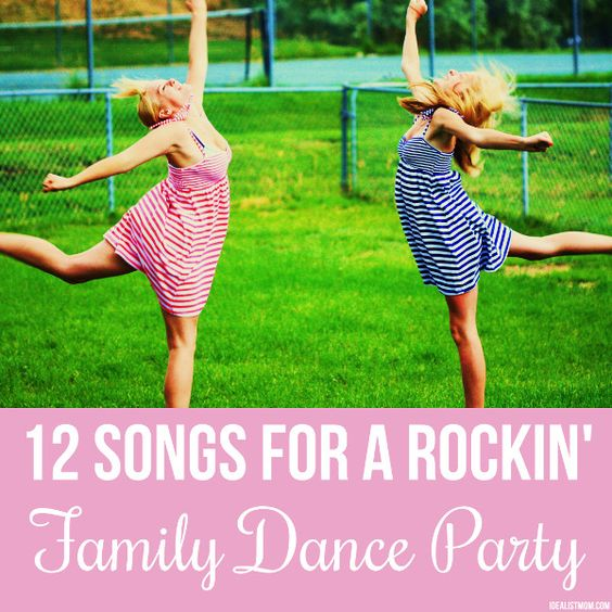 12 songs for a family dance party - Next time you or the kids have a case of the crankies, fire up this playlist and boogie away the bad mojo. (p.s. No Yo Gabba Gabba here!)