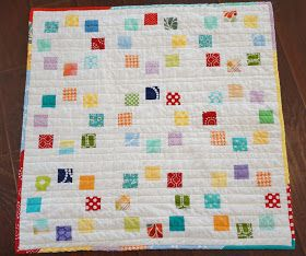 Lo, Ray, & Me: Running in Circles Baby Quilt