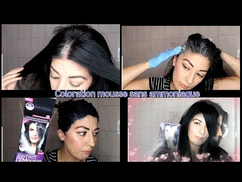 Videotuto Bye Bye Les Cheveux Blancs Coloration Sans Ammoniaque Schwarzkopf 210 Perfect Mouss Coloration Sans Ammoniaque Cheveux Blancs Coloration Mousse
