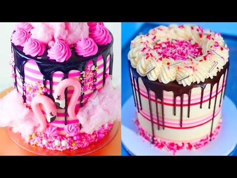 Yummy Birthday Cake Recipe Ideas In The World Mar 10 Top 10 Colorful Amazing Cake Decorating Tutorials Birthday Cake Decorating Birthday Cake Recipe