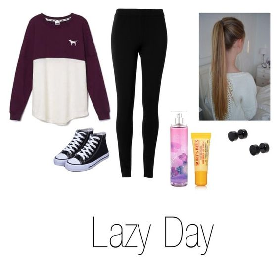 """Lazy Day"" by isabellasmall on Polyvore featuring Victoria's Secret, Max Studio, ASOS and Burt's Bees"