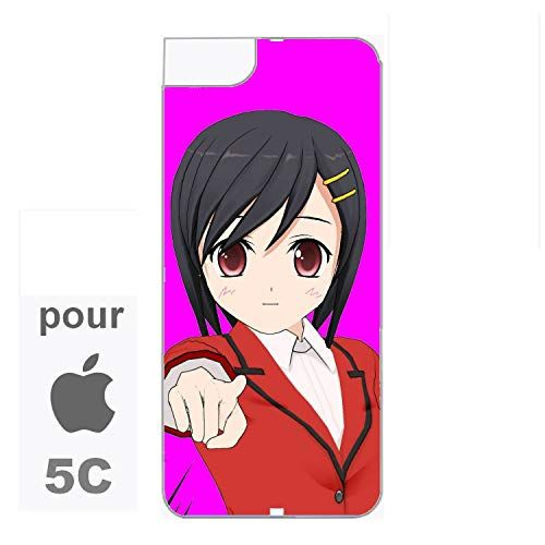creosoleil Coque Rigide Manga Girl pour Iphone 5C | Manga, Anime ...