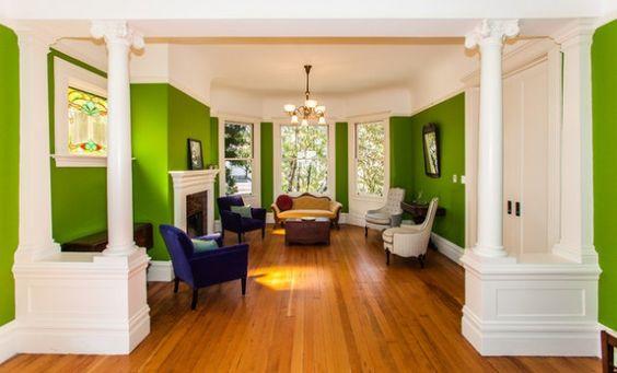 Une décoration toute fraîche grâce au vert | BricoBistro
