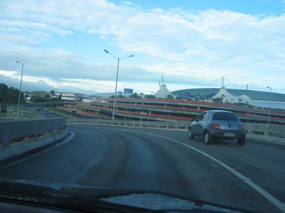 """Aeroporto Internacional dos Guararapes'. Fachada. # Recife, Pernambuco. Brasil."