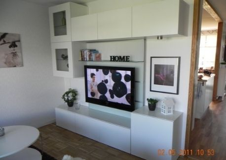 Composition besta ikea salon pinterest composition - Ikea mueble salon tv ...