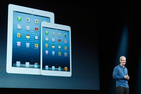 Qual a lógica de optar por um iPad Mini? http://wp.clicrbs.com.br/vanessanunes/2012/10/23/qual-a-logica-de-optar-por-um-ipad-mini/?topo=13,1,1,,,13