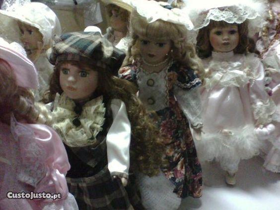 Colecção de Bonecas de Porcelana