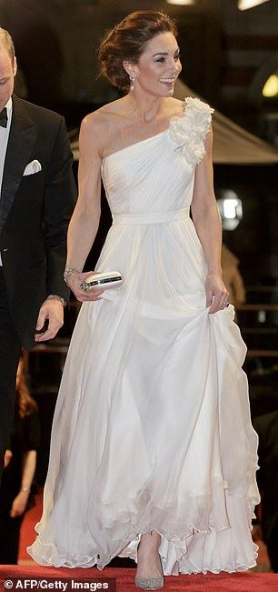 Kate appeared to follow suit in her Grecian-inspired Alexander McQueen dress at the BAFTAs...