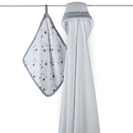 twinkle hooded towel sets | aden + anais