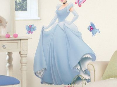 Cinderella wall mural bedroom ideas pinterest disney for Cinderella wall mural