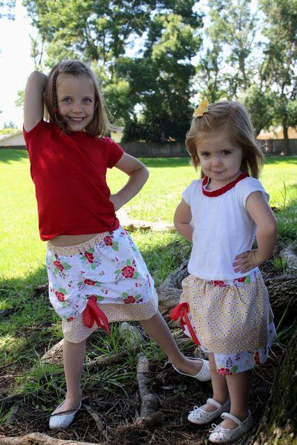 Riley Blake Designs -- Cutting Corners: the its a cinch skirt