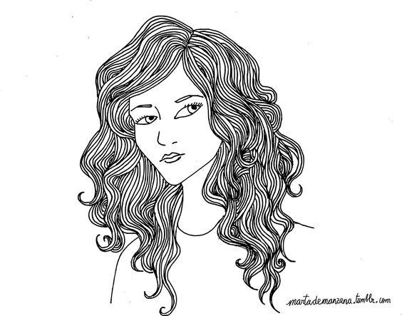 Self portrait by Marta de Manzana