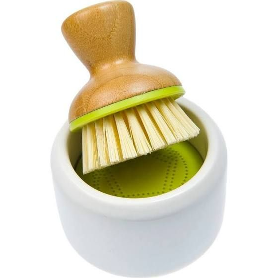 wooden dish brush