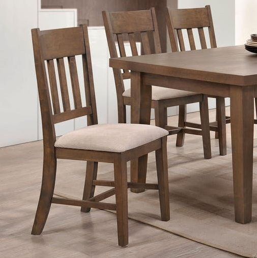 Ulysses By Acme 73062 Dining Side Chair Set Of 2 Side Chairs Dining Dining Chairs Solid Wood Dining Chairs