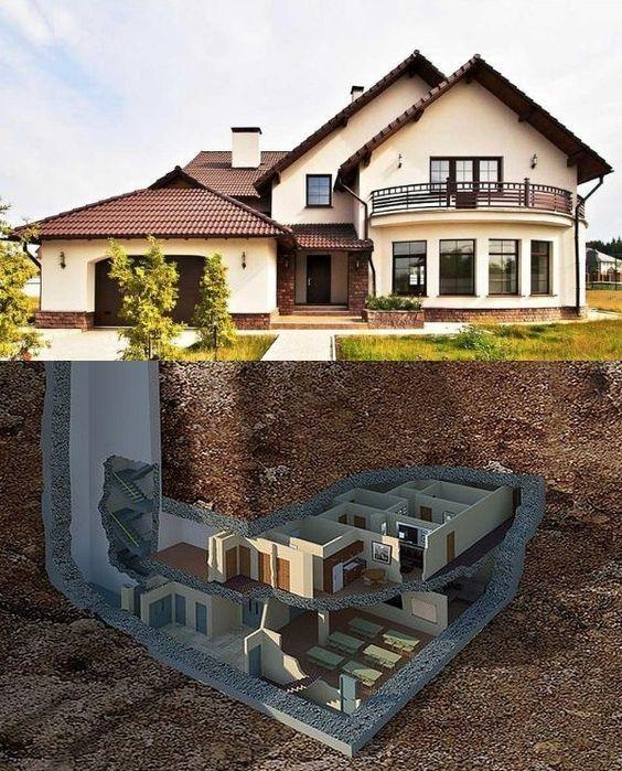 Dom Stroitelstvo I Remont Underground House Plans Underground Homes Luxury House Designs