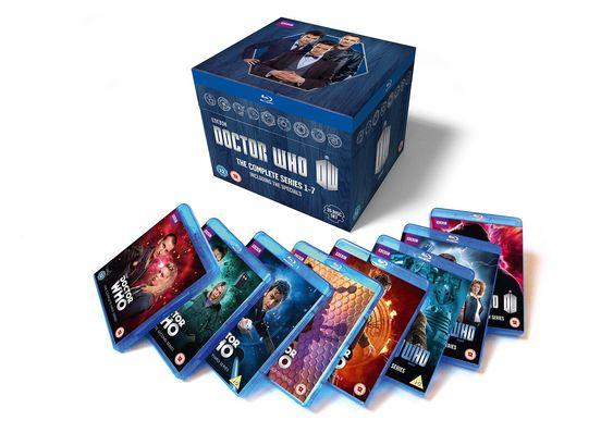 Doctor Who: The Complete Box Set - Series 1-7 Blu-ray: Amazon.co.uk: Christopher Eccleston, David Tennant, Matt Smith: DVD & Blu-ray