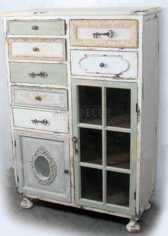 Mueble comoda aparador reciclar muebles vintage for Muebles vintage malaga