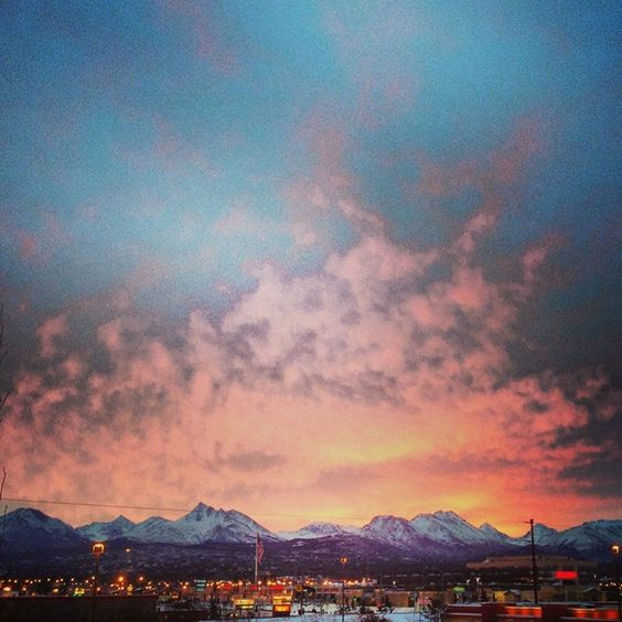 Anchorage Sunrise 11.15.13