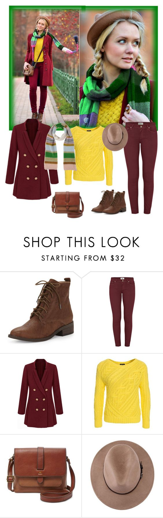 """""""Untitled #1198"""" by ruru833 ❤ liked on Polyvore featuring Eileen Fisher, Paige Denim, Polo Ralph Lauren, FOSSIL, Missoni, women's clothing, women, female, woman and misses"""