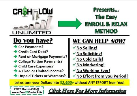 CashFlow Unlimited LLC Is comprised of a few solid successful entrepreneurs. 15+ years went into the development of the formula for the Ultimate Positive CashFlow Solution. With experience as Entrepreneurs in the Foreign Exchange Market, Finance, Retail, Life Coaching, Fashion and Wellness + more. #cashflow #lifecoaching  http://www.cashflowpaydays.com/