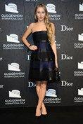 Guggenheim and Dior International Gala, New York - November 6 2013  Harley Viera-Newton