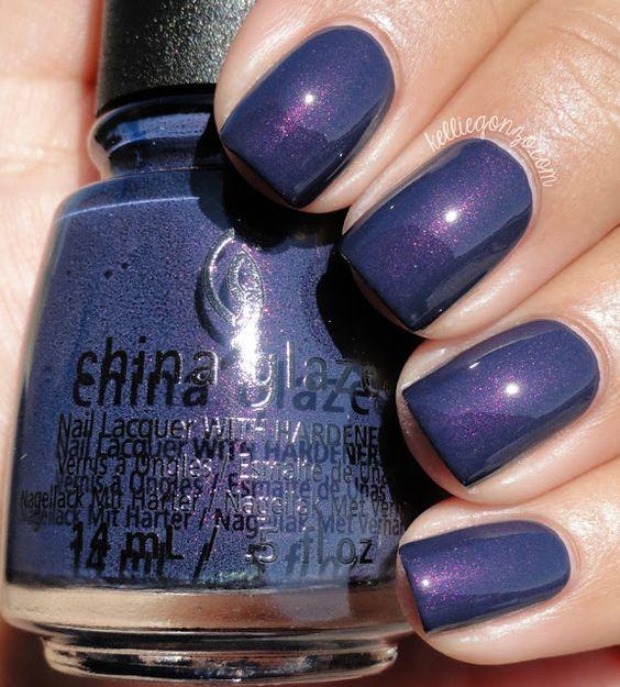 China Glaze Sleeping Under the Stars // www.kelliegonzo.com