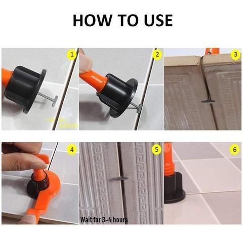Reusable Anti Lippage Tile Levelling System Thefuturaworld In 2020 Tile Leveling System How To Lay Tile Tiles