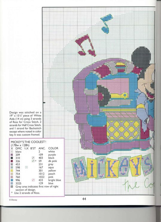 Mickey Collection~pg 44 (Mickey's the Coolest! 1)