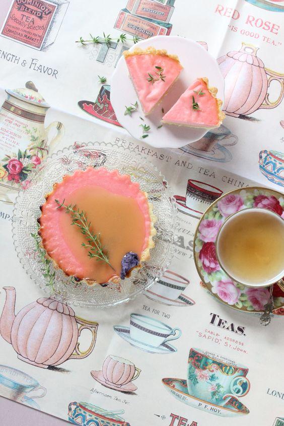 Lisbeths Cupcakes Zitronen Ricotta Rosen Tartelettes