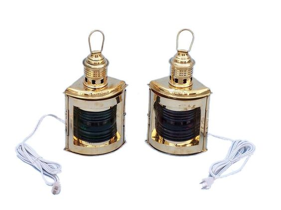 Port and Starboard Electric Lantern