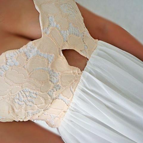 SheIn lace maxi dress