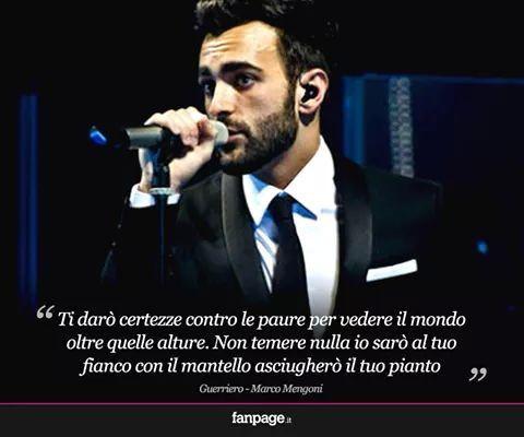 #MarcoMengoni #Guerriero #fanpage #musica