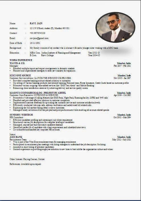 Cv maker, Cv format and Word doc on Pinterest cv maker free online Beautiful Excellent Professional Curriculum Vitae / Resume / CV Format with Career