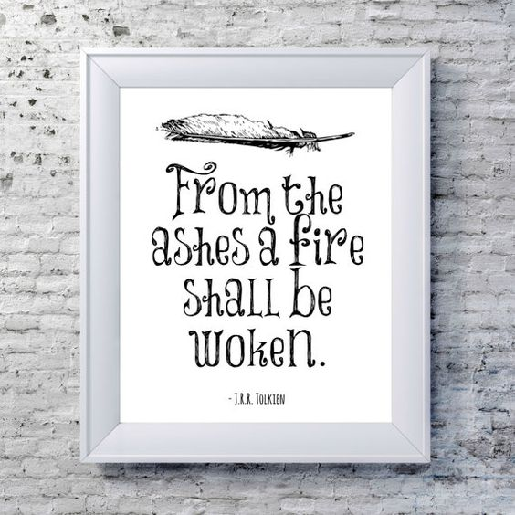 Hey, I found this really awesome Etsy listing at https://www.etsy.com/listing/125947844/the-lord-of-the-rings-print-literary