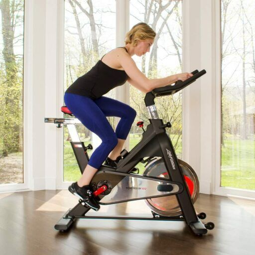The Life Fitness Ic1 Exercise Bike Is For The No Frills Fitness Enthusiast That Values Durability And Longevity Over Anything Biking Workout Fit Life Exercise
