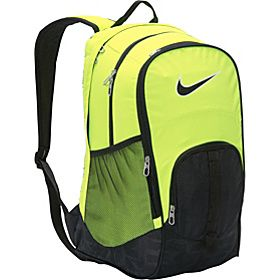 nike yellow backpack