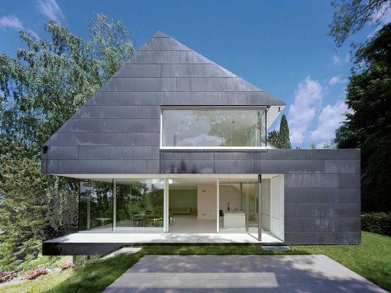 Best architects architektur award fritsch schl ter architekten einfamilienhaus in seeheim - Best architectes ...