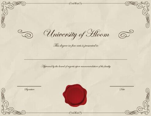 11 Free Printable Degree Certificates Templates Hloom Intended For University Gradua Degree Certificate Graduation Certificate Template Certificate Templates