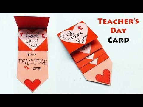 Diy Teacher S Day Card Happy Teachers Day Handmade Teachers Day Card Making Happy Teachers Day Card Teachers Day Greeting Card Handmade Teachers Day Cards