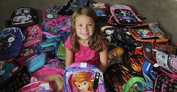 Alivia Heinzerling, age 7, wants to help children in pediatric units by collecting backpacks so they could be mobile during their hospital stay. Read about her idea, and a donation drive taking place in Monroe MI, at the link to www.monroenews.com