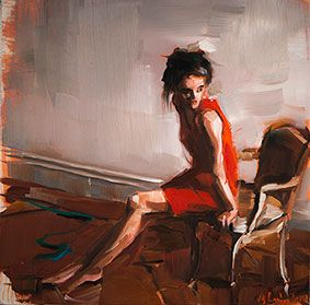 Edward B. Gordon: Red Dress