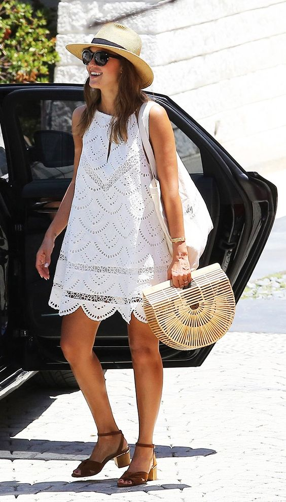 Jessica Alba Just Wore the Bag With a Cult Following via @WhoWhatWearUK