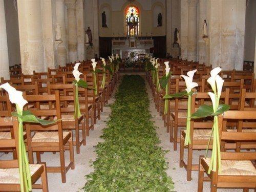 Idees deco mariage pinterest mariage et d co for Decoration eglise