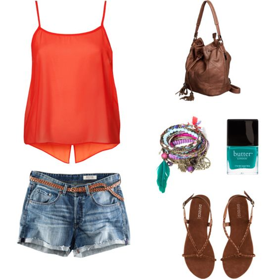 Summer, created by aolcese on Polyvore