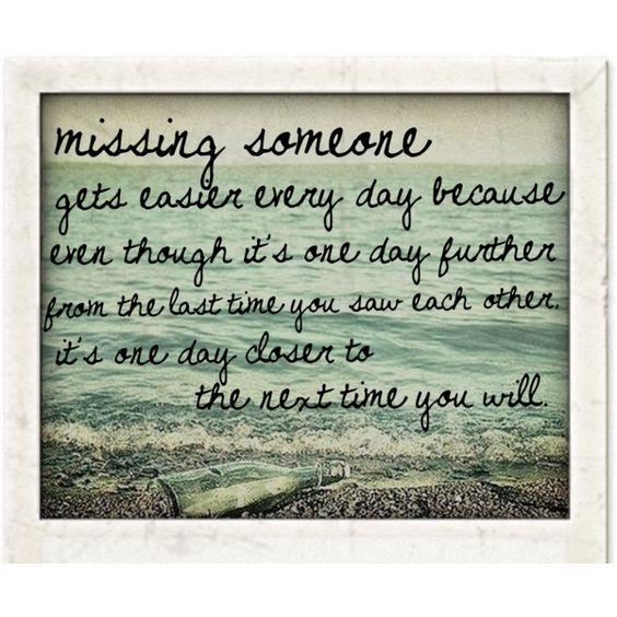 Missing Someone Quote: Pinterest • The World's Catalog Of Ideas